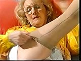 Granny in will not hear of Girdle and fully fashioned Nylons