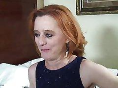 Matured Redhead termagant