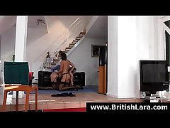 FFM threesome for brunette British MILF with teen slutn[2]