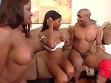 Horny Black Mothers added to their Daughters  PT-2-2...F70
