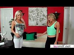 Sex Tape With Lesbian Milfs (Brianna Stud & Zoey Portland) movie-29
