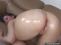 Oiled Increased by Analed Milf