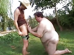 Tall Matured SSBBW Fucked Outside Permanent