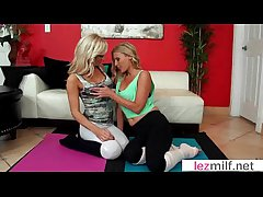 Horny Milf Lesbians Lick Plus Kiss Their Holes video-07