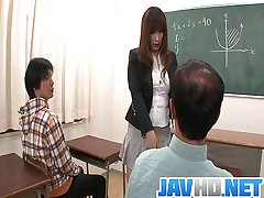 Insolent teacher is not far from for a moistness roger to hand school