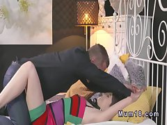 Hairy Milf tied everywhere together with fucked  HD