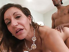 Demented Horny Wan GILF Corrupts BBC
