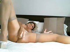 Mom Plays with Her Hot Pussy - Join Throe at MOISTCAMGIRLS.COM