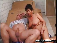 Mature amateur wife homemade anal respecting facial cumshot