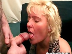 Redhead and light-complexioned mature sluts succeed in fillet