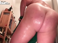 FunMovies Fat housewife loves to get fucked with a dildo