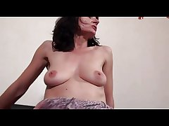 FRENCH MATURE 13 brunette anal mom grown-up milf triptych