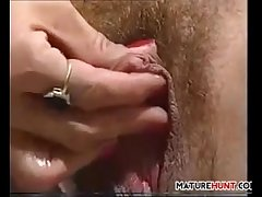 Mature Blonde Chick With respect to A Big Clit
