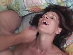 MILF Linda Roberts fucks younger man