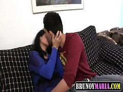 Hijo y Madrastra Follando Juntos para brunoymaria