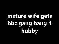old wife gets bbc corps bang 4 hubby