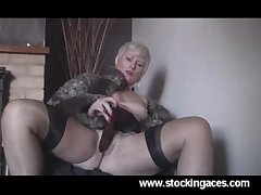 Sexy Sly Direct blame Milf In Stockings of age mature porn granny venerable cumshots..