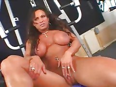 Hot Of age Busty Unilluminated Bodybuilder Banged