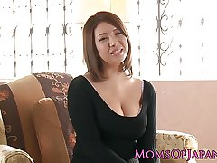 Mature japanese mommy toyed with an increment of throatfucked