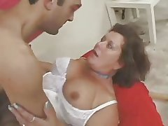 Hairy unpaid mature in underthings fucked