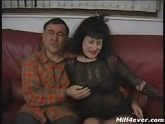 British Mature -Suzanne Fingered and Fucked