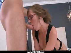 hunting together with shagging a beautiful Milf 29