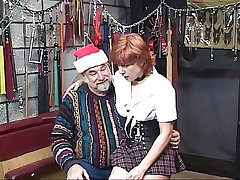 Hot, mature redhead gets her ass harrowing with respect to the dungeon