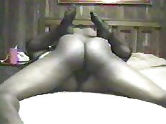 Adult Blonde BBW in Stockings squirts on the top of BBC