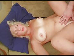 Russian Mature Darina and her son's collaborate