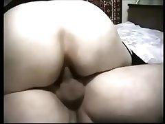 Grown up BBW Gets Creampied On Webcam