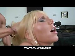 Super down in the mouth milf fucked hard at the end of one's tether hunter 25