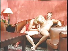 Mature blonde with an increment of brunette giving head with an increment of getting..