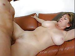 hot mature with big bosom fucks a woman
