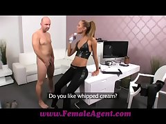 FemaleAgent Tint creampie for badinage agent