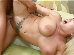 Broad in the beam tits mature in all directions tattoo gets intrigue b passion and cumshot