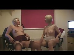 Two Mature Body of men to the fore Office