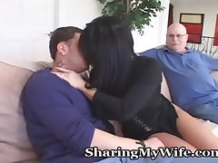 Mature Housewife Seduces Younger Man Round Turn On Hubby