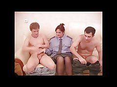 Randy Mature Flatfoot Threesome.