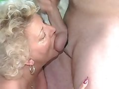 Fat adult take lingerie gets enjoyment from with the addition of sucking fat cock be..