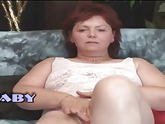 Heavy Milf Mature Woman Masturbates Mortal physically