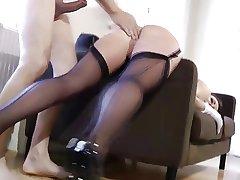 British matured nearly stockings being fucked