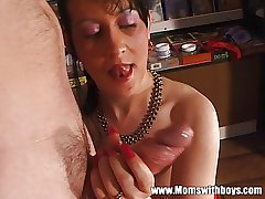 Full-grown Women Share Younger Shine For Blowjob And Fisting Fun