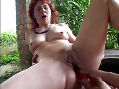 XXX MOM n78 redhead mature anal