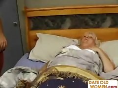 Fat Mature Fucks The Massage Varlet