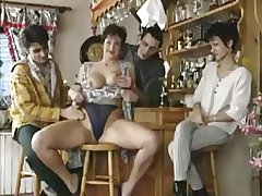 Horny Milf Lets The Guys Near The Bar Relating to Bends On Say no to Cunt