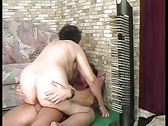 BBW FAT GRANNY FUCKED Away from A YOUNG Radiate Fastening 3