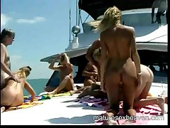 Granny  039 s Yacht Orgy Part 1 More on: 18CAMS.CO