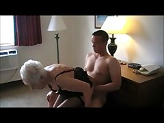 GRANNY MARG 90 HAMMER FUCKED IN B & B - Grannies porn make oneself heard video at..