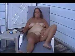 Sunna BBW Granny Masturbate Abroad