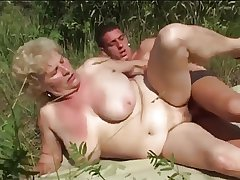 Big Teat Granny Fucking Outdoors